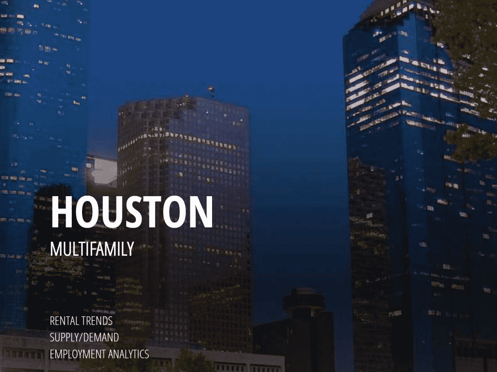 A snapshot of our multifamily report for Houston.